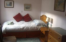 Single downstairs bedroom